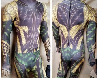 Justice League Armored Aquaman suit