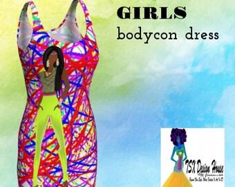 GIRLS Bodycon dress