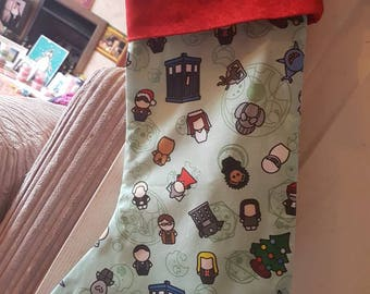 Doctor who inspired Christmas stocking