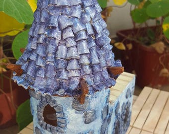 Moonbright Distillery |  Fairy Town | Faeries | Magical | Fantasy | OOAK art