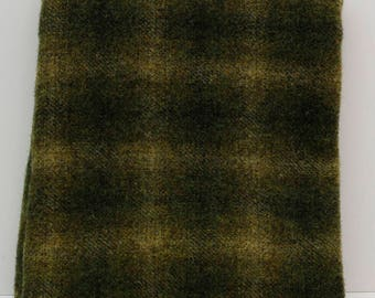 Peppergrass Fat Quarter Yard, Felted Wool Fabric for Rug Hooking, Wool Applique & Crafts