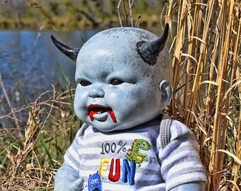 Shax (OOAK horror doll)