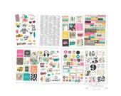 Good Vibes Planner Stickers - Summer Planner Sticker Pack - Value Pack Stickers - Carpe Diem Stickers - Simple Stories - 354014