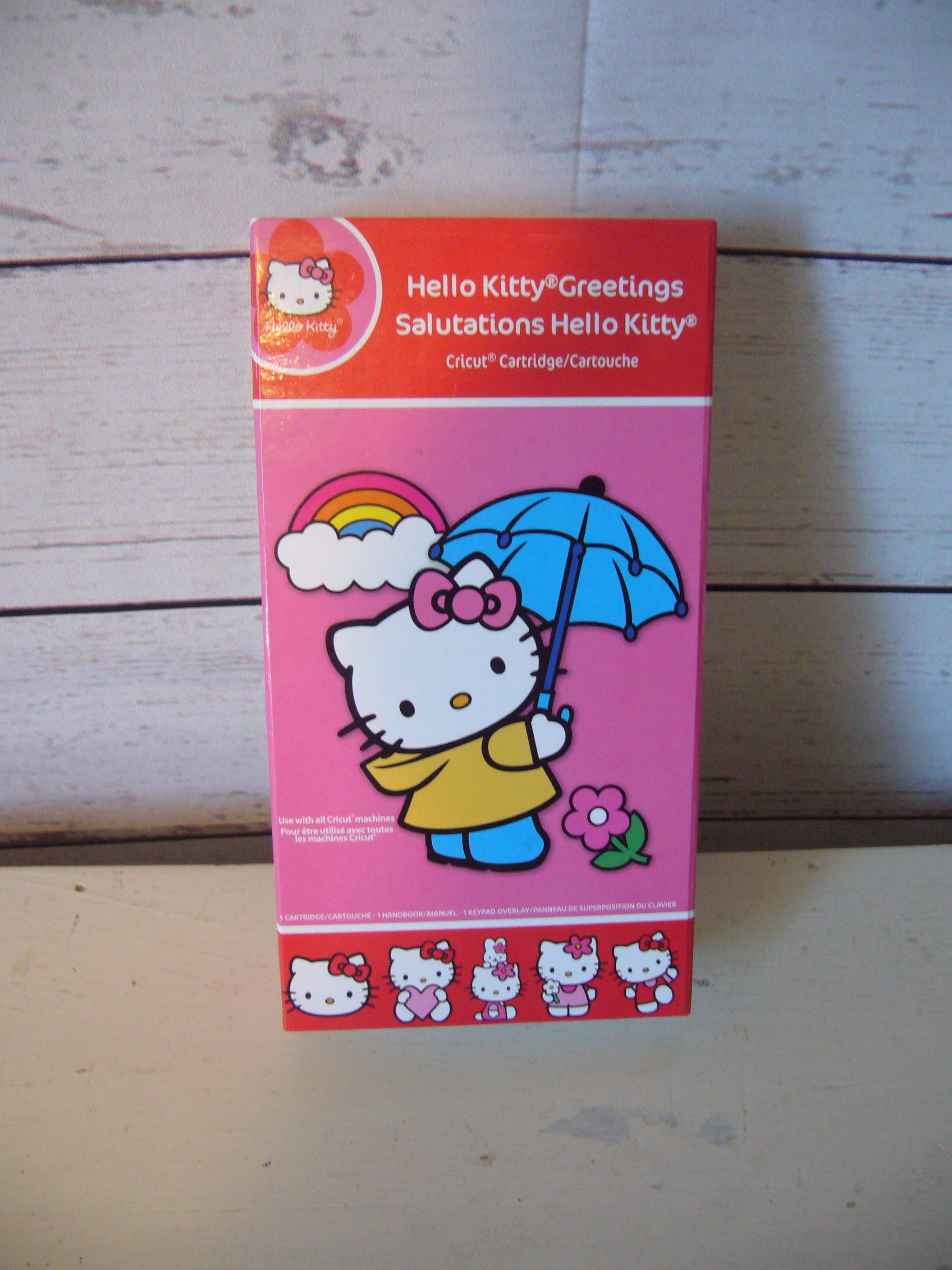 Cricut cartridge hello kitty salutations hello kitty greetings cricut cartridge hello kitty salutations hello kitty greetings provo craft scrapbooking die cutting from clevercottage on etsy studio m4hsunfo