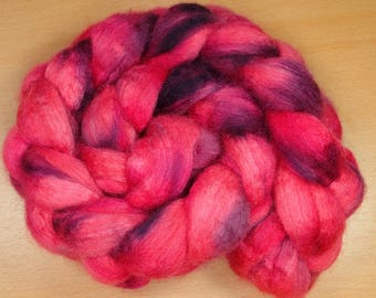 Lucifer - BFL, silk top in pink and purple