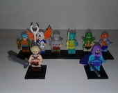 Masters of the Universe Minifigures Set Custom 8 piece Set MOTU