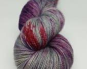 Echeveau Mérinos Superwash - Nylon - Stellina / Fingering / Sock teint à la main - Coloris Pandhora