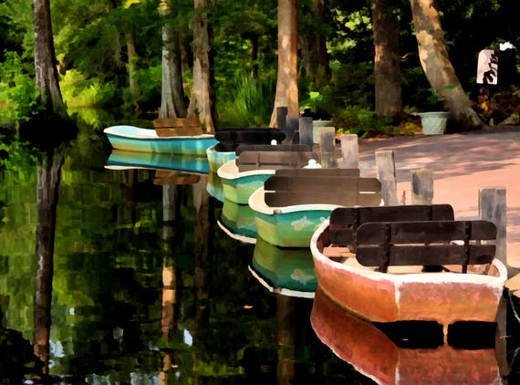 Boats at Cypress Gardens