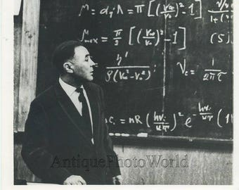 Soviet mathematician Ata Berdyev vintage photo
