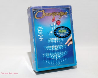 Champagne The Game from Pressman 1996 COMPLETE