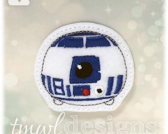 "R2 Tsum Feltie Digital Design File - 1.75"""