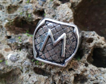 Ring, Shadowhunter Morgestern crest, coat of arms Morgestern, Jace Wailand