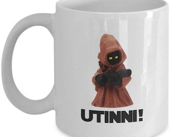 Star Wars Jawa Utinni! Gift Mug Funny Droids Jedi Coffee Cup Tatooine