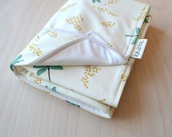 Change Mat in Dragonflies - Travel Diaper Change Pad, Baby Changing Mat, Newborn Baby Gift