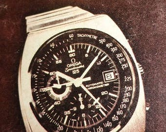 1973 Omega watch booklet