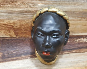 African Chalk ware Wall art, 1950s-1960s, african collectible