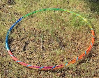 Dancing Bear Rainbow Taped Hula Hoop