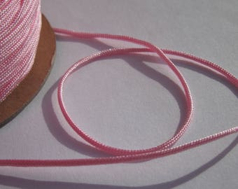 1 meter in colorful jewel-1 mm cotton yarn (72