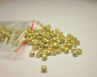 bag of seed beads medium (3 mm) glass (R104)