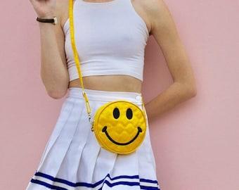 90's Smiley Face Cross body Bag
