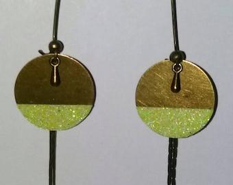 Earrings half moon