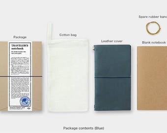 PRE ORDER Travelers Notebook Blue Color Regular