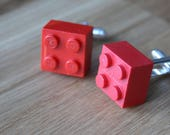 Boutons de manchette LEGO-mariage geek-