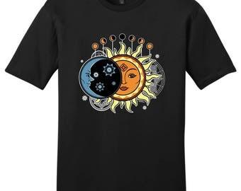 Solar Eclipse Event 8-21-17 Young Men's T-Shirt - DT6000 - WSC-502