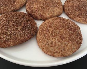 GLUTEN FREE - Snickerdoodles (Two Dozen)