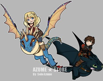 How to Train your Dragon 2 Charms