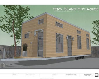 Tern Island Tiny House On Wheels - Complete Building Plans