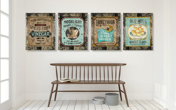 country wall decor for kitchen teal farmhouse kitchen decor country decor rustic wall 8480