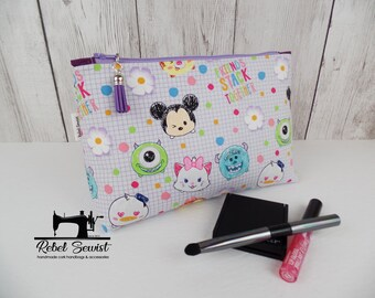 Cosmetic Bag - Friends Together - Make-up bag - Zip bag - Toiletry bag - Ready to Ship
