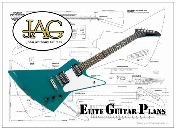 E-Gitarre Gibson Explorer DIY-Projekt oder ideale Geschenk