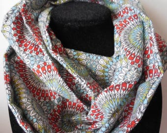 Infinity scarf - flannel