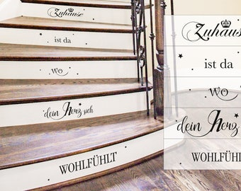 staircase, stairway, stairs quote - wall decal