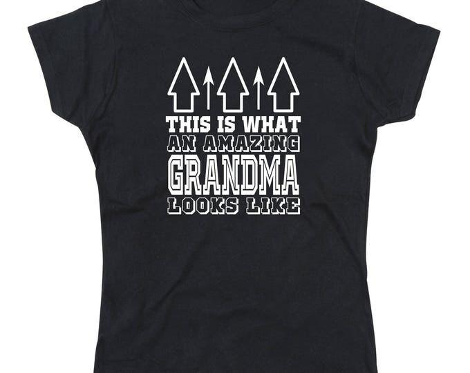 Ladies Amazing Grandma T-Shirt