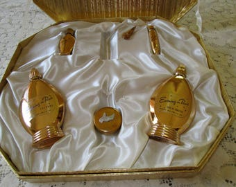 15% OFF AT CHECKOUT-  Price Reduced - Vintage 1940's Evening in Paris Perfume Set