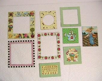Magnets, Vintage Mary Engelbreit Magnet Set, Vintage Refrigerator Magnets