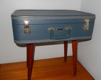 Suitcase nightstand | Etsy