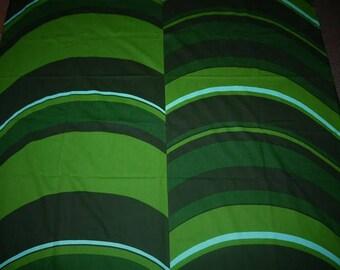 Fabric - Wall Hanging - Craft - Retro - Scandinavian Design - Waves -