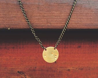 Small Custom Constellation Necklace