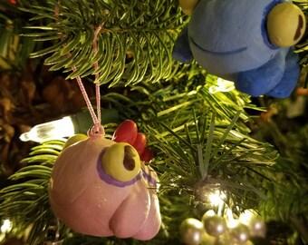 World of Warcraft- Handmade Murloc Ornament - Pink