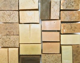 24 Brown Tone Artisan Soaps - Hand made