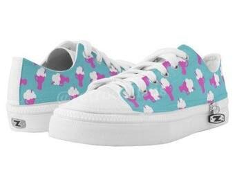 PRE-ORDER Brand New Custom Ice Cream Soda Women's Tennis Shoes