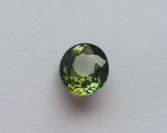 1.18 Ct Natural loose Greenish Yellow Tourmaline Round Gem