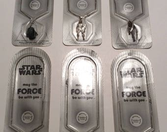1977 Star Wars Necklaces each SOLD SEPARATELY