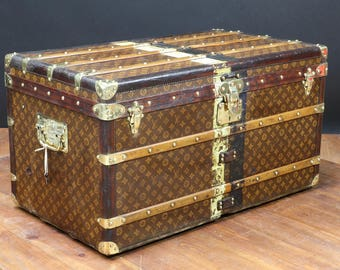 dv001 Louis Vuitton Steamer trunk