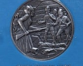 DAR The Great Women of the American Revolution- Hart, Hays, Hendee— Fine Pewter Medals-Franklin Mint-1974-Mother's Day