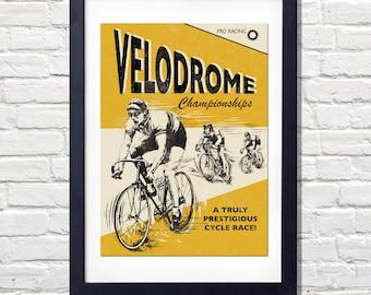 Velodrome Print
